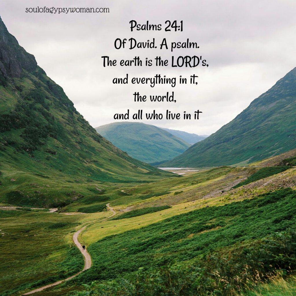 Psalms 24:1