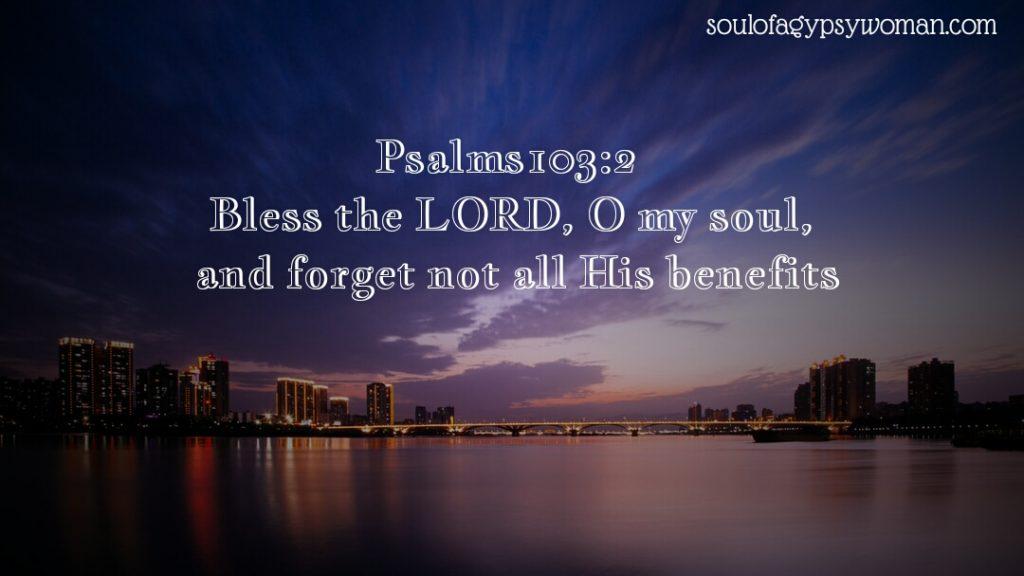 Psalms 103:2
