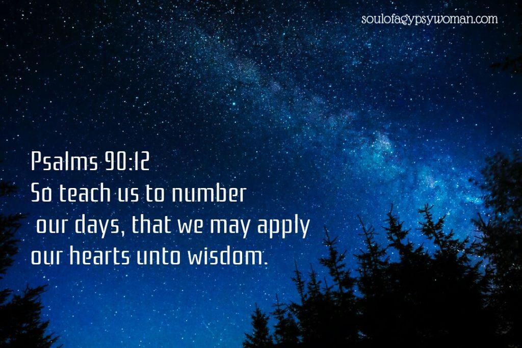 Psalms 90:12