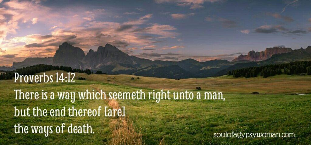 Proverbs 14:12