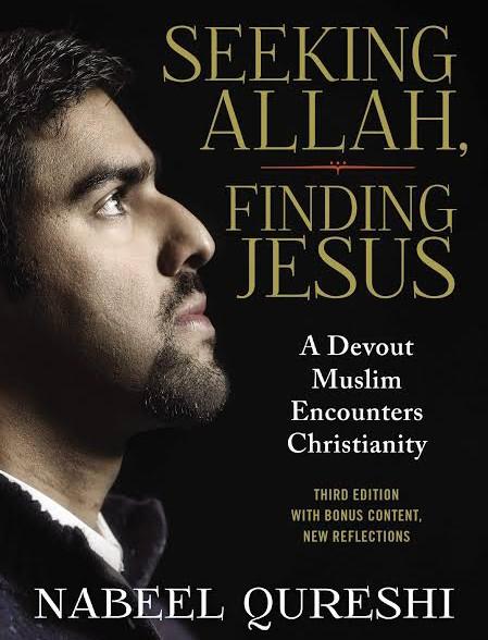 Title of book—Seeking Allah, Finding Jesus